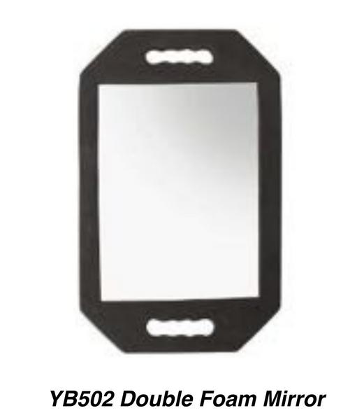 Professional Double Foam Mirror for Salon 1pc