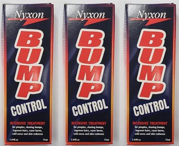 Nyxon Bump Control 75ml for Razor Bump Prevention New Packing X 3 PCS