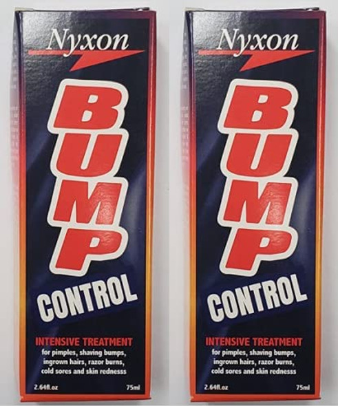 Nyxon Bump Control 75ml for Razor Bump Prevention New Packing X 2PCS
