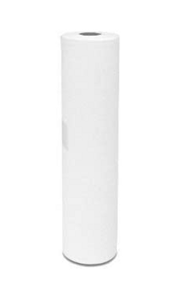 """Massage Table Paper Couch WHITE ROLL 2PLY : 20""""(40 Metres) Long 500mm"""