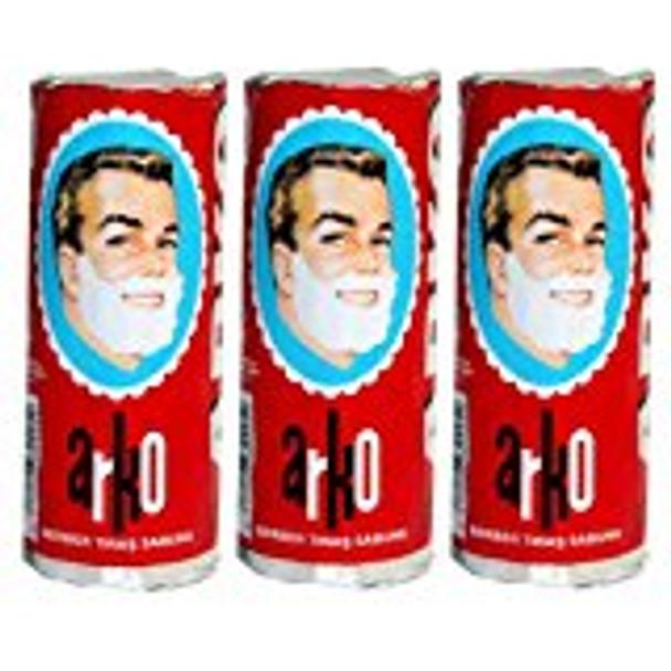 Arko Shaving Cream Soap Stick (3 pieces)