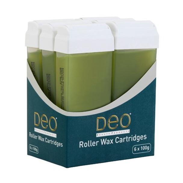 DEO ROLLER WAX CARTRIDGE 100ML – ALOE VERA Pack Of 6 Pcs