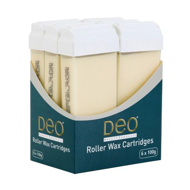 DEO ROLLER WAX CARTRIDGE 100ML – CREME Pack OF 6 Pcs