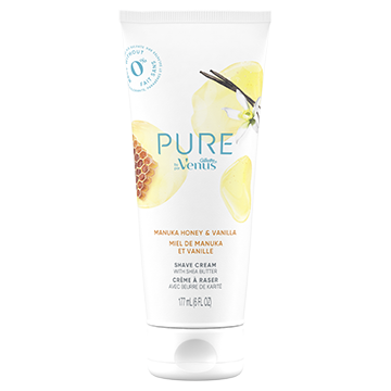 PURE by Gillette Venus, Shaving Cream - Manuka Honey and Vanilla (7.36 oz)
