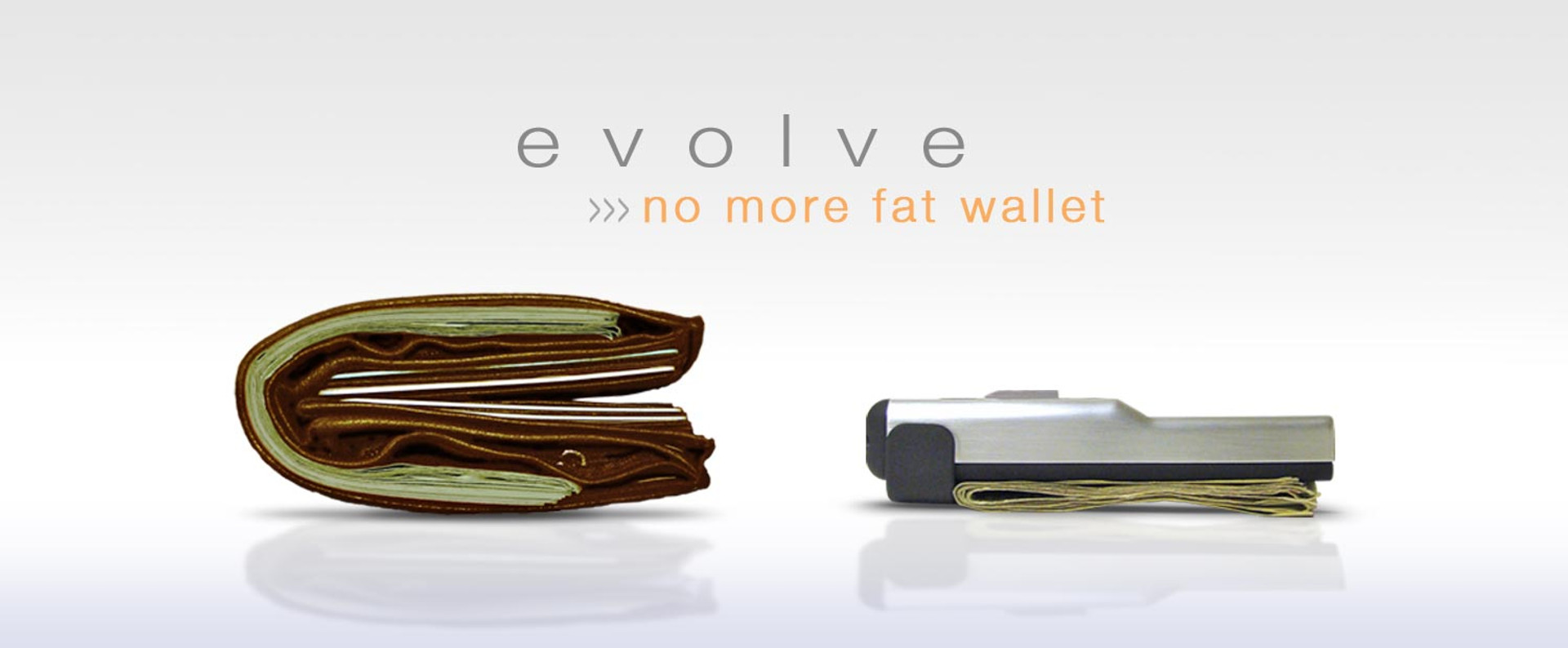 make the decision to get rid of that fat wallet!
