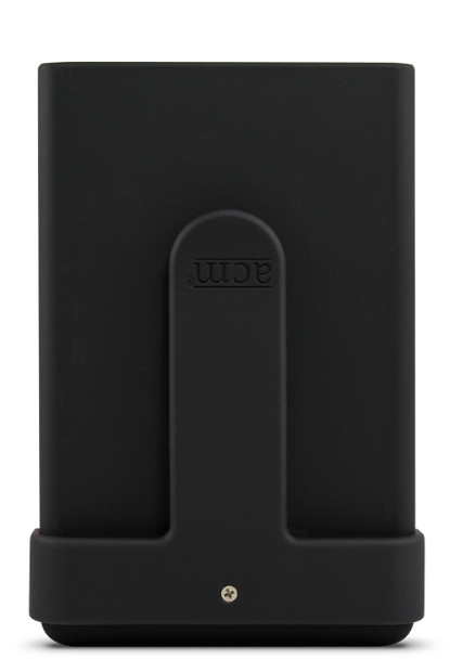 Black money clip shown attached to Black Hybrid ACM®Wallet.