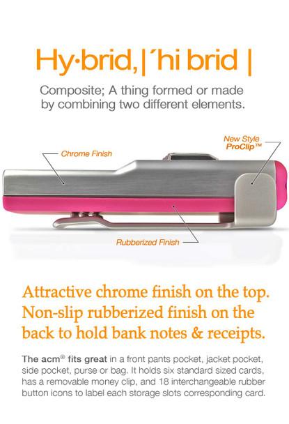 Pink Hybrid Button Text