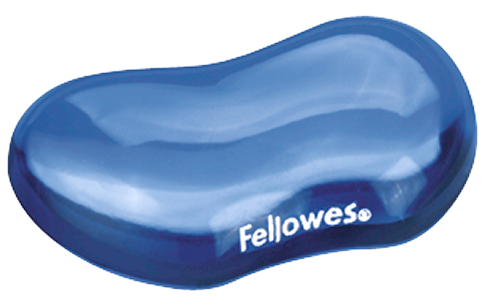 Fellowes Flex Rest Clear Blue 91177