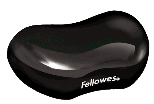 Fellowes Flex Rest Clear Black 9112301