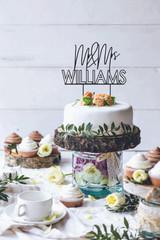 Hollow Wedding cake topper
