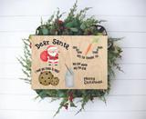 Christmas Eve Treat Board