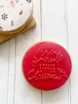 Merry & Bright - Fondant Stamp