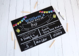 First Day of school - personalised blackboard resuable sign
