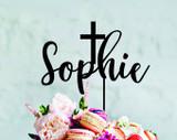 Baptism or christening  Cake Topper