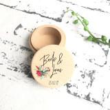 Native Flowers - Wedding Ring Box