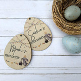 Personalised Easter Tag
