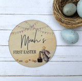 First Easter birth announcement
