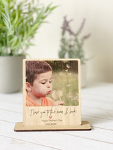 Mothers Day - Polaroid Desk stand