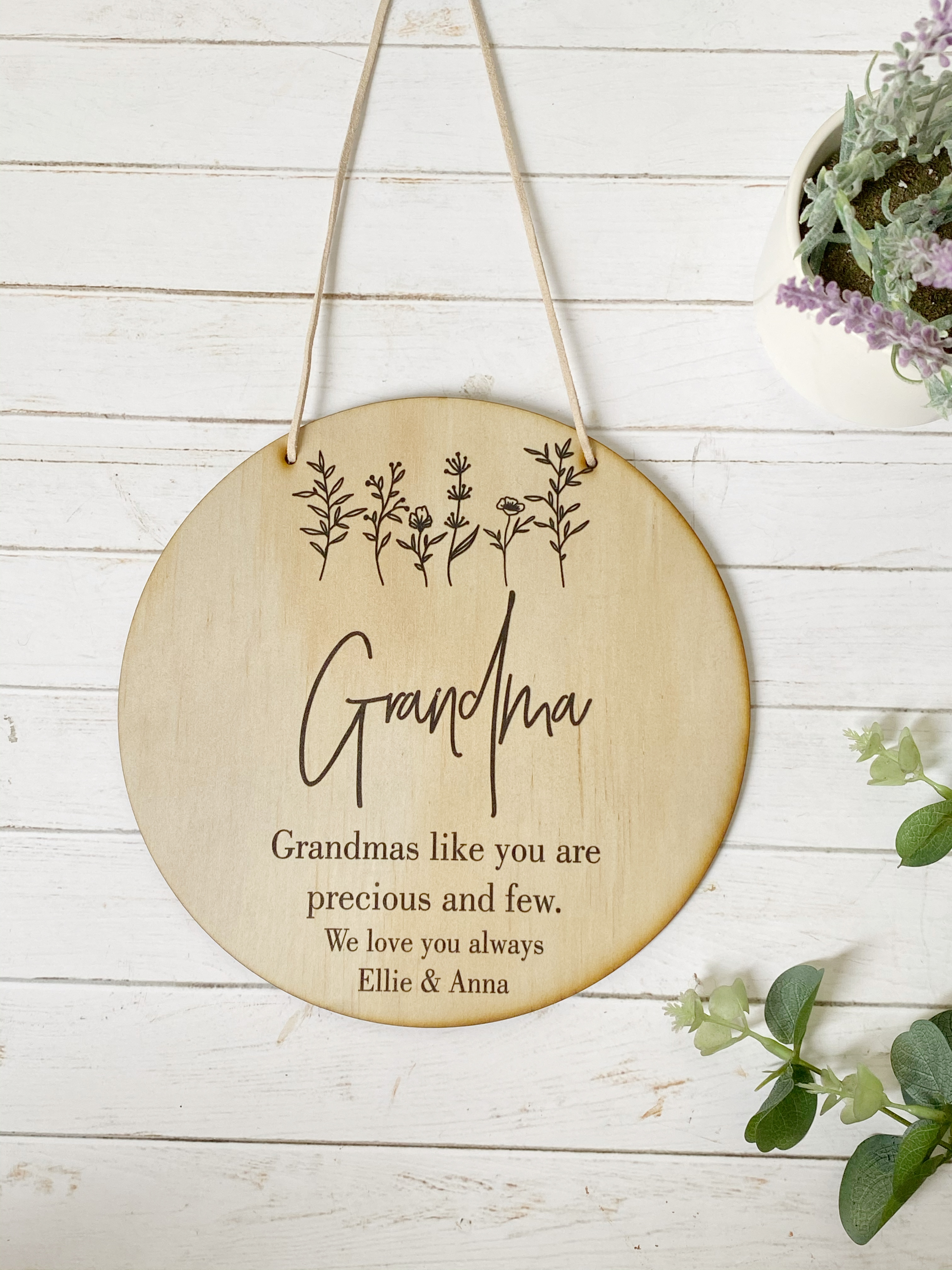 A Mothers Day Plaque - Garden