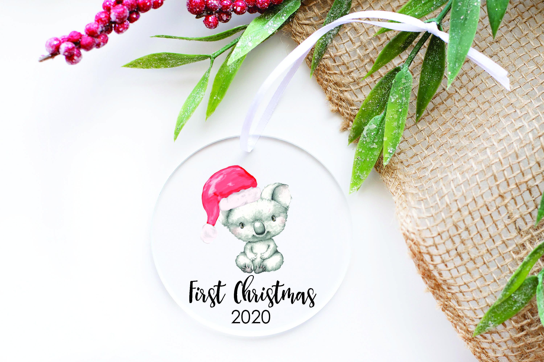 Clear Acrylic Christmas Decoration