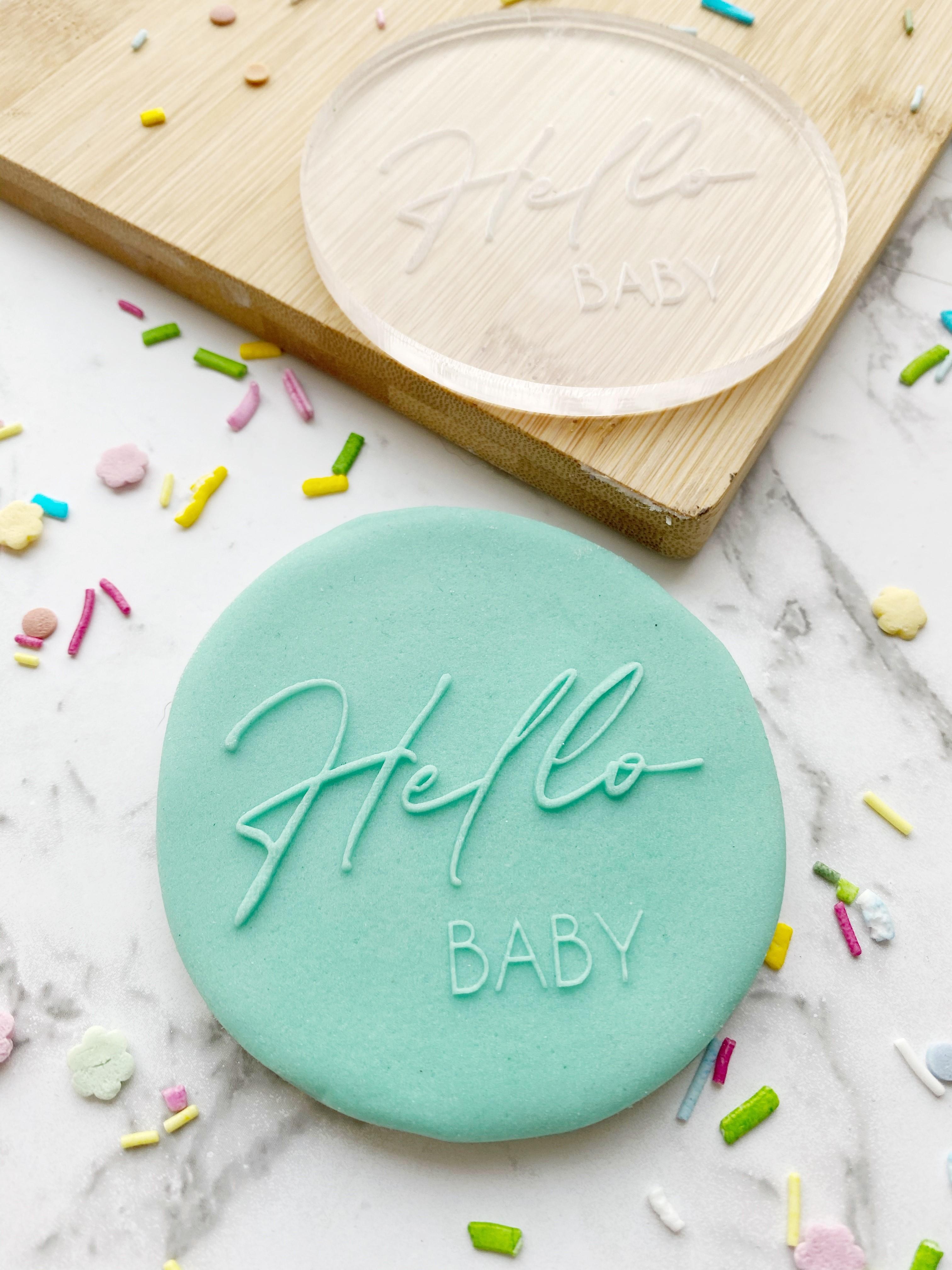 Hello Baby Stamp