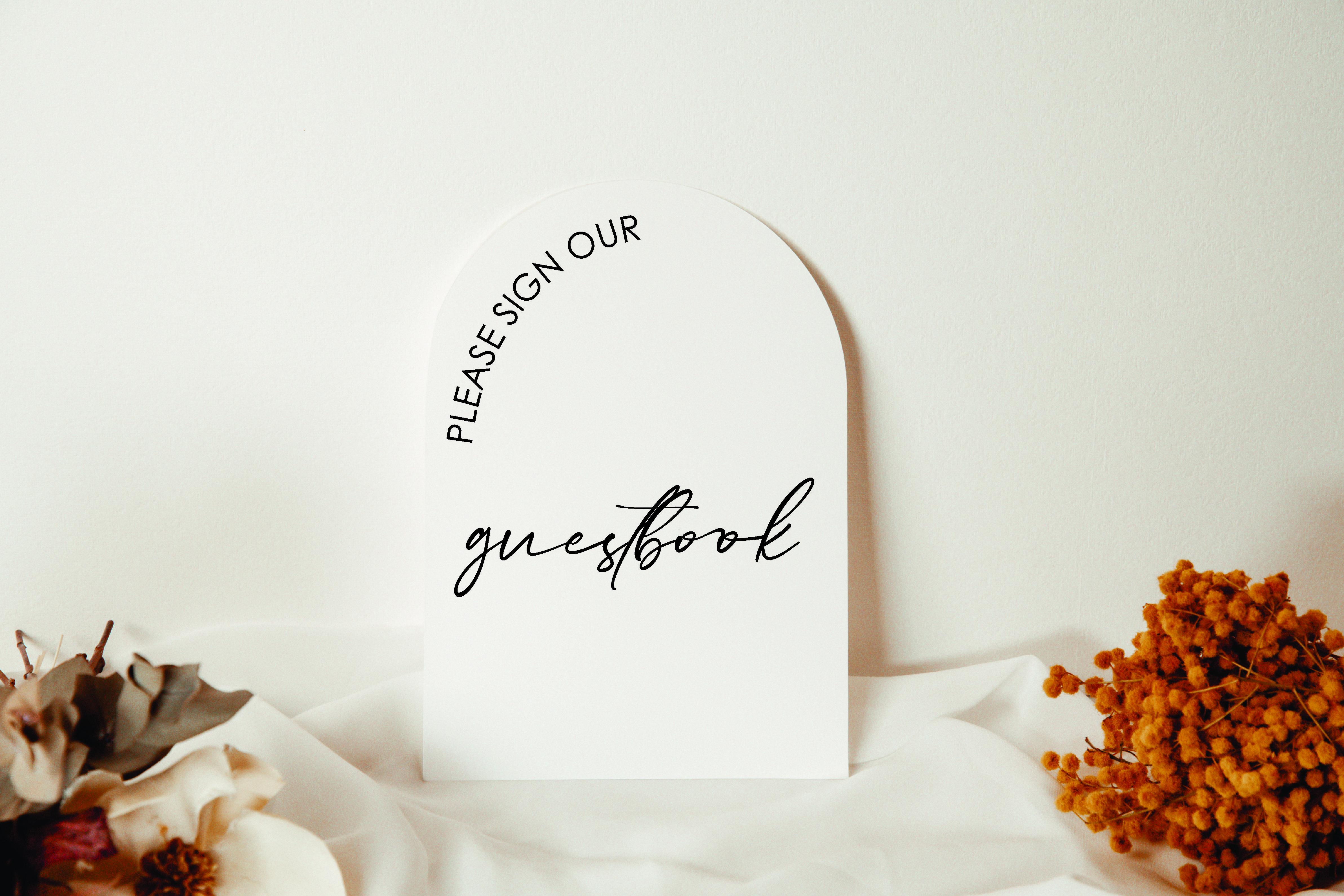 Modern Photo Guestbook