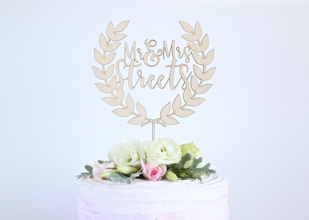 Wreath Couples name