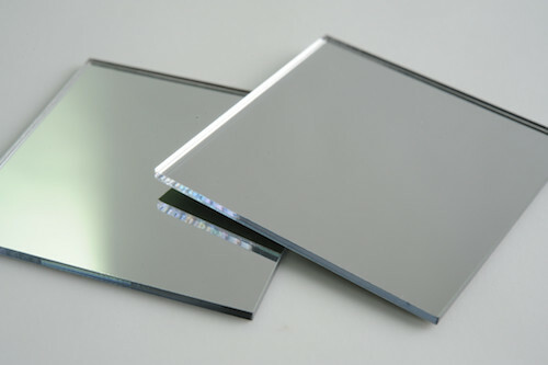 Silver acrylic