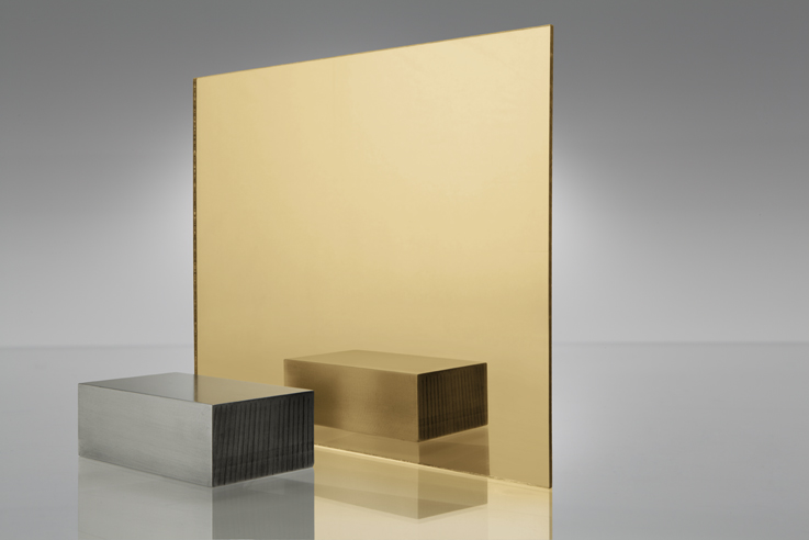 Gold Mirror Acrylic