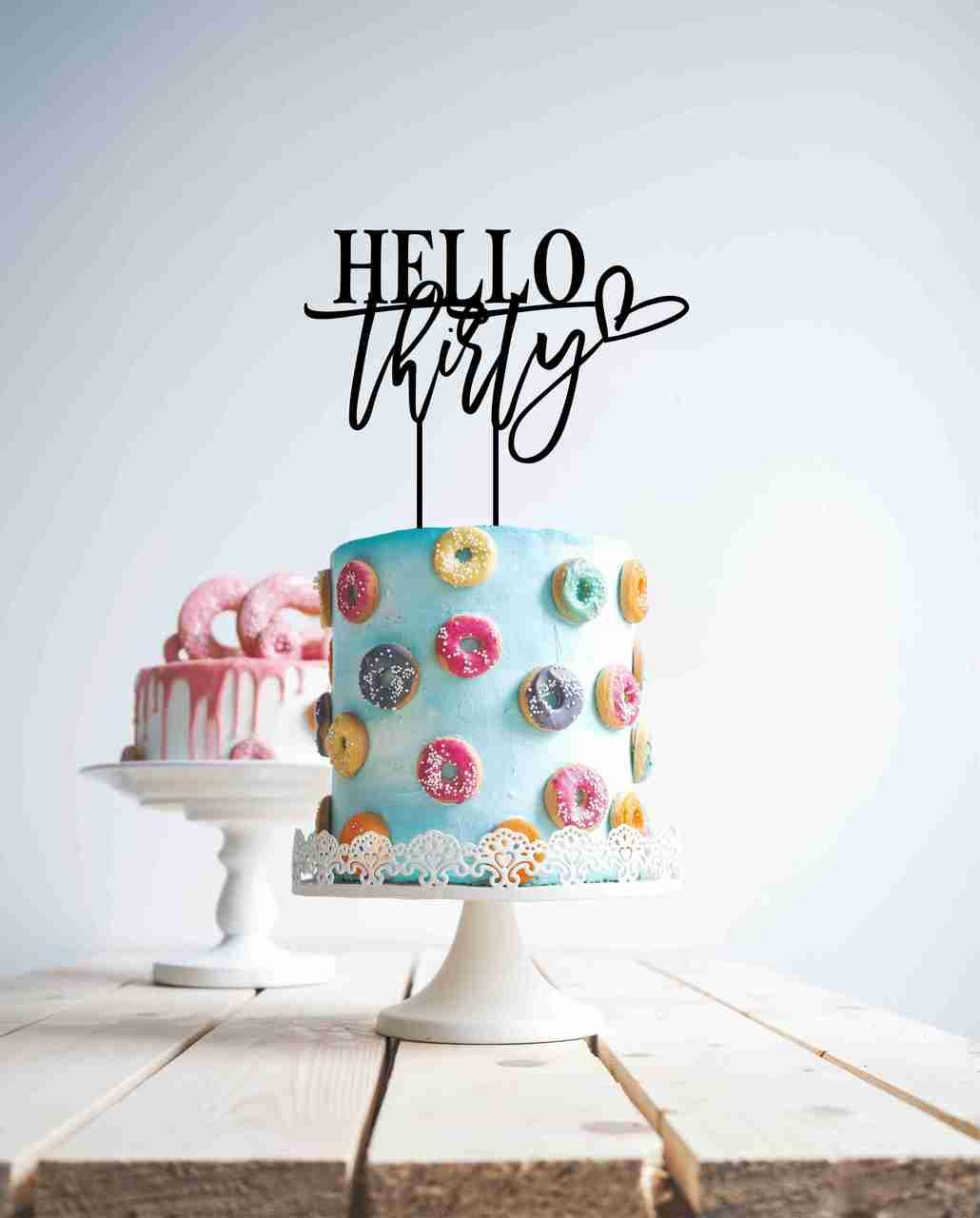 Hello Thirty (heart)