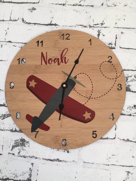 Aeroplane Clock