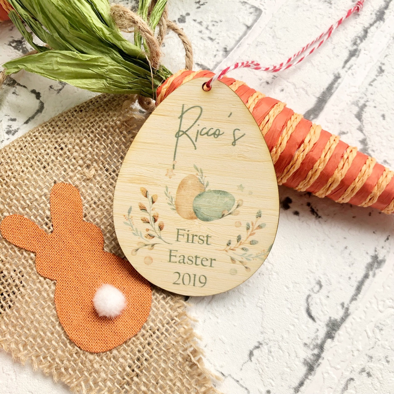 Personalised Easter Tag - First Easter