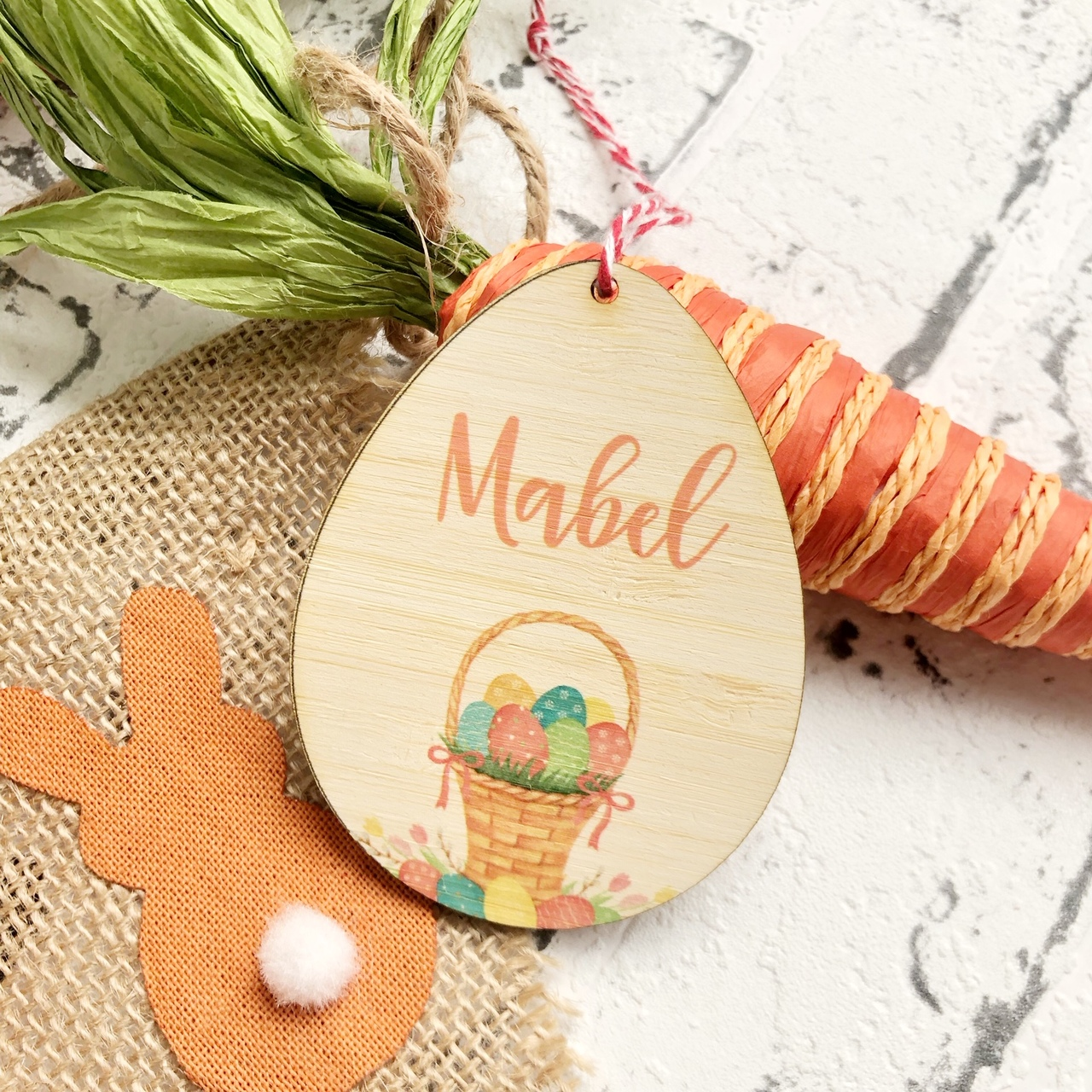 Copy of Personalised Easter Tag - Basket