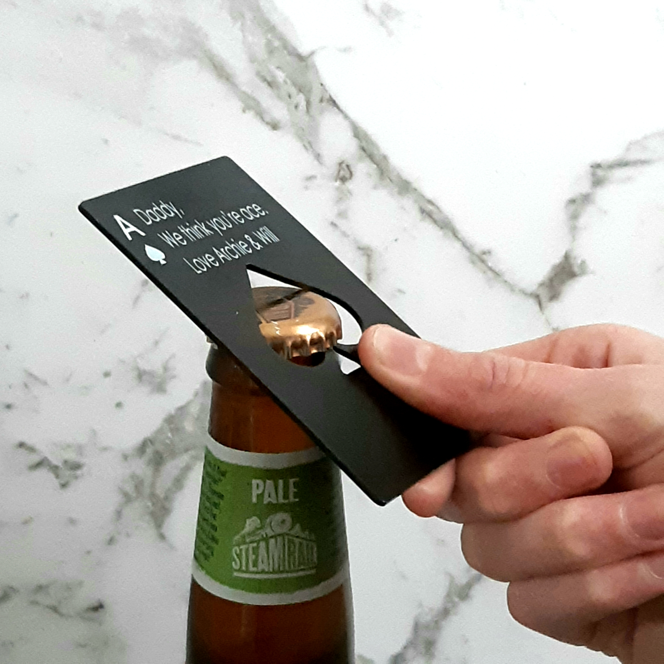 Father's Day Gift - Ace bottle opener
