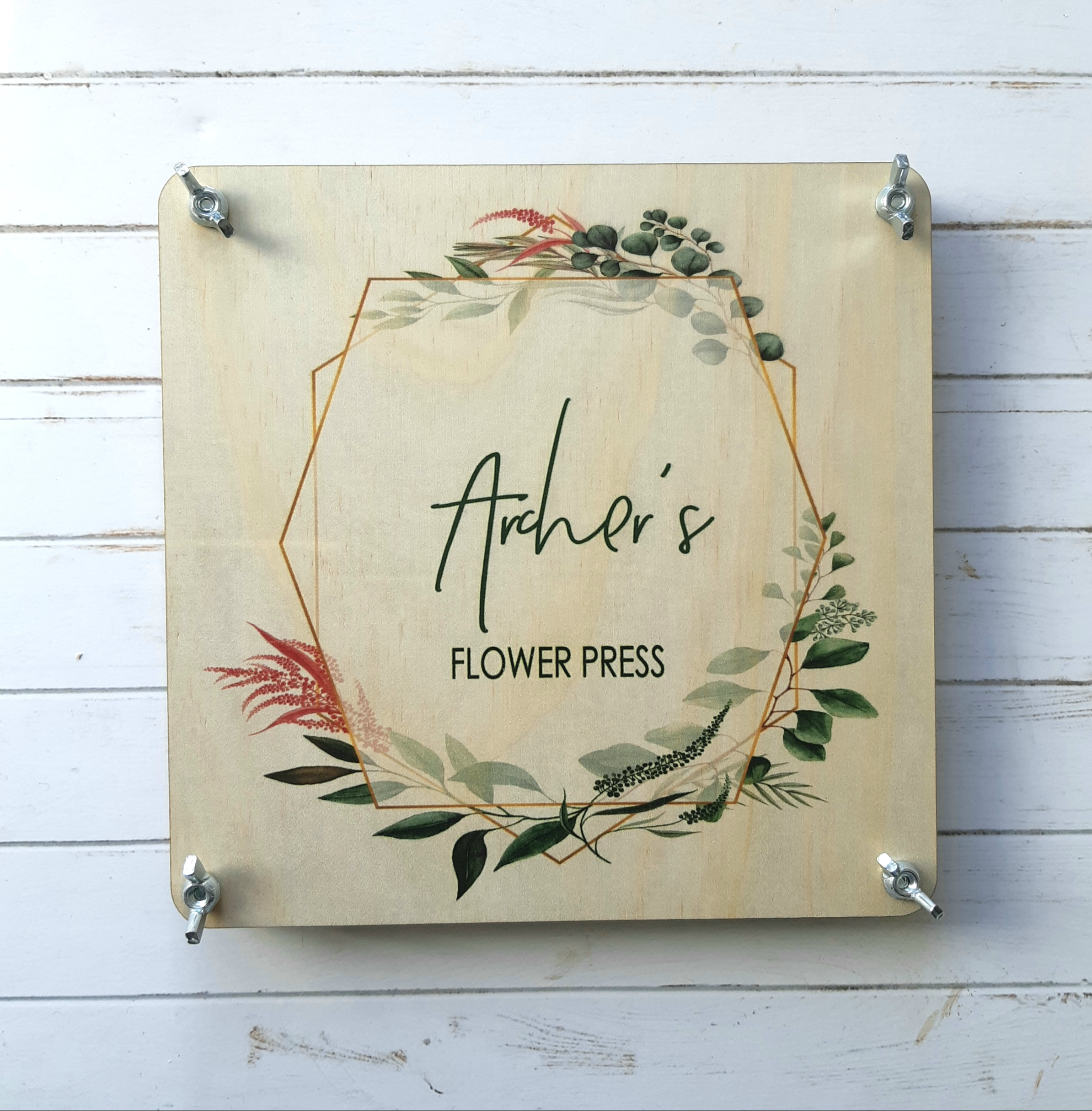 Enjoy hours of nature activities and crafting with our keepsake flower presses