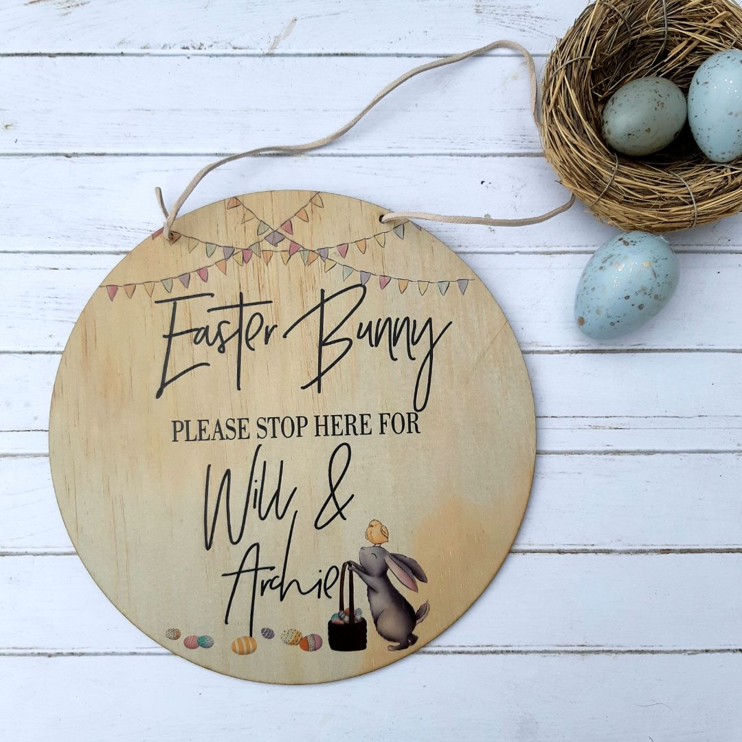 Easter Bunny - Please stop here
