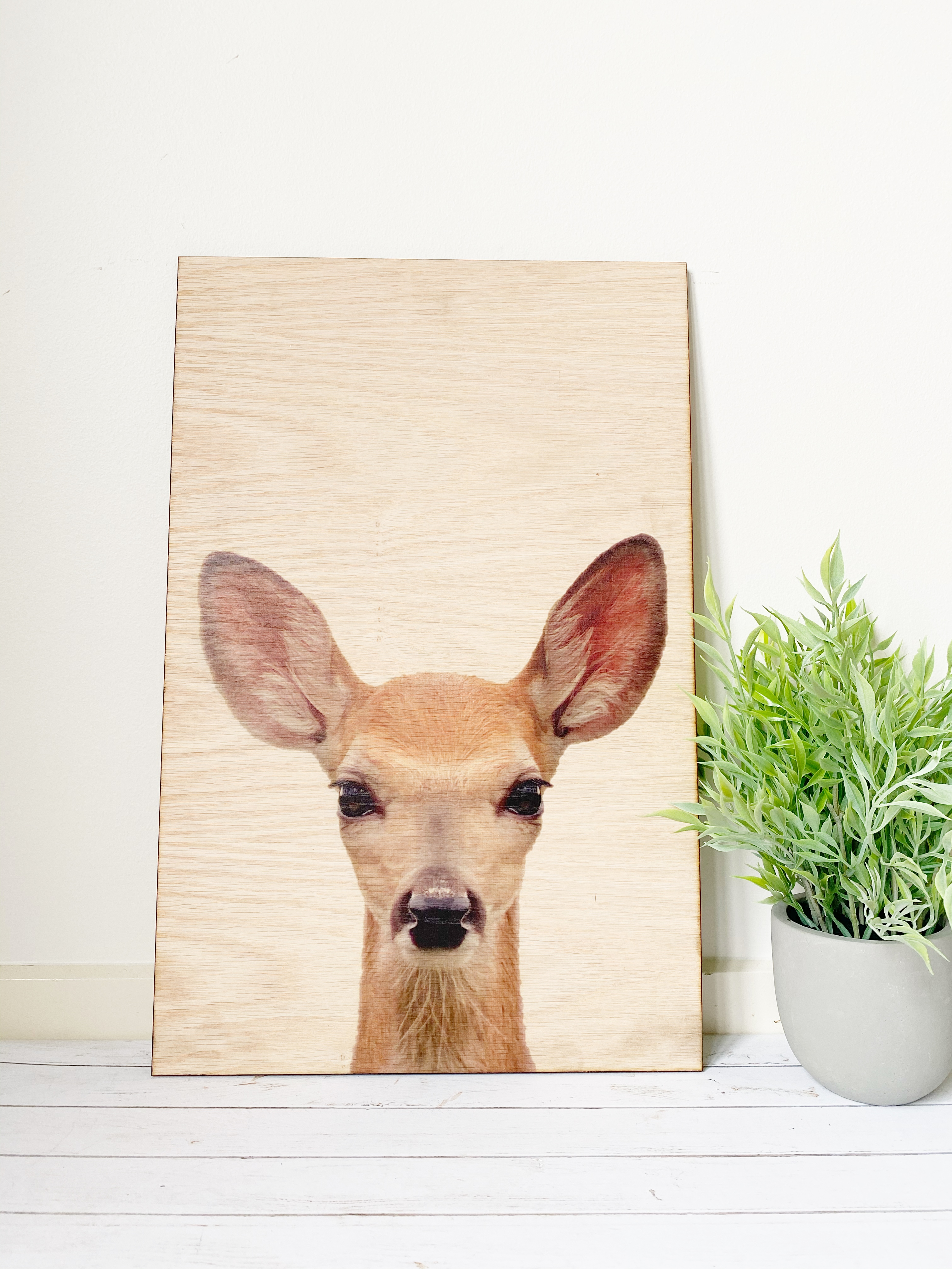 Animal Wood Prints - Forest Friends