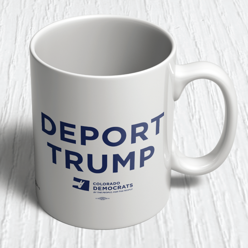 Deport Trump (11oz. Coffee Mug)
