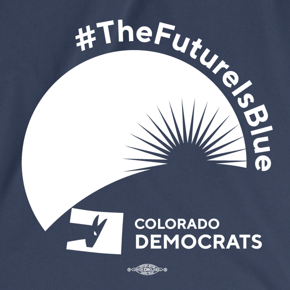 The Future Is Blue (Navy Ladies Tee)