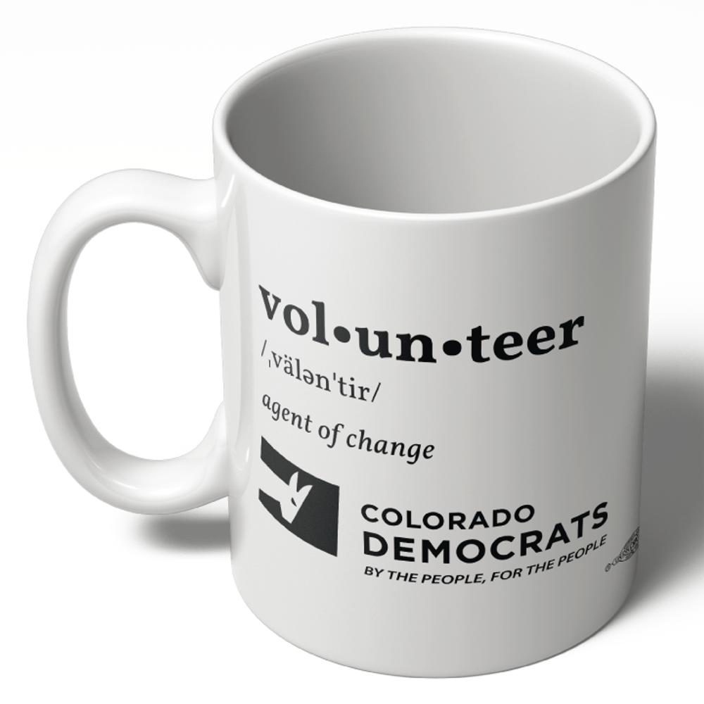 Volunteer Definition (11oz Ceramic Mug)