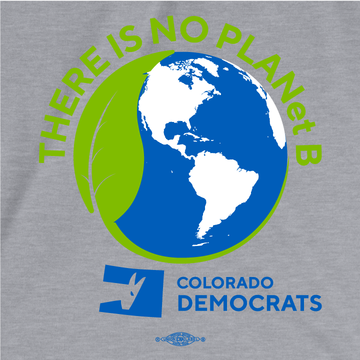 There Is No Plan(et) B (Athletic Heather Ladies Tee)