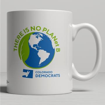 There Is No Plan(et) B (11oz Ceramic Mug)