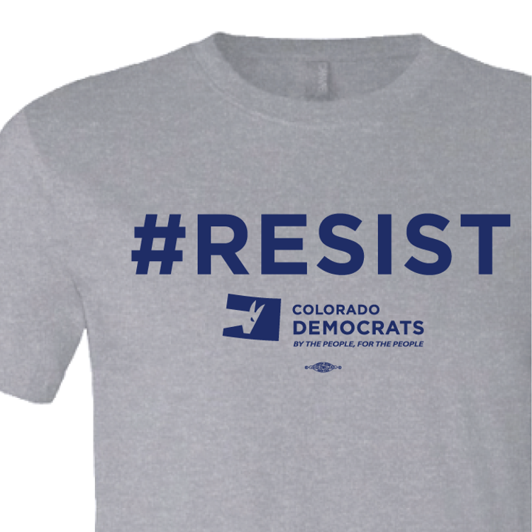 #RESIST (Athletic Heather Tee)