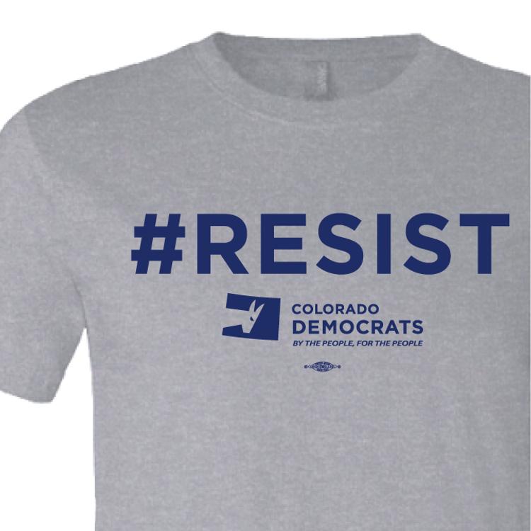 #RESIST (Athletic Heather Tee)