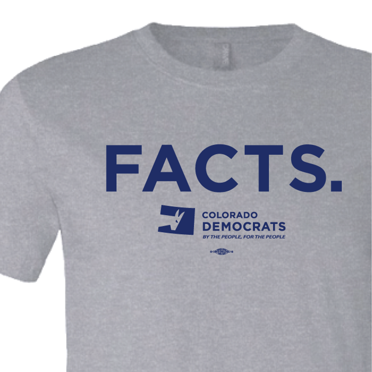 FACTS. (Athletic Heather Tee)