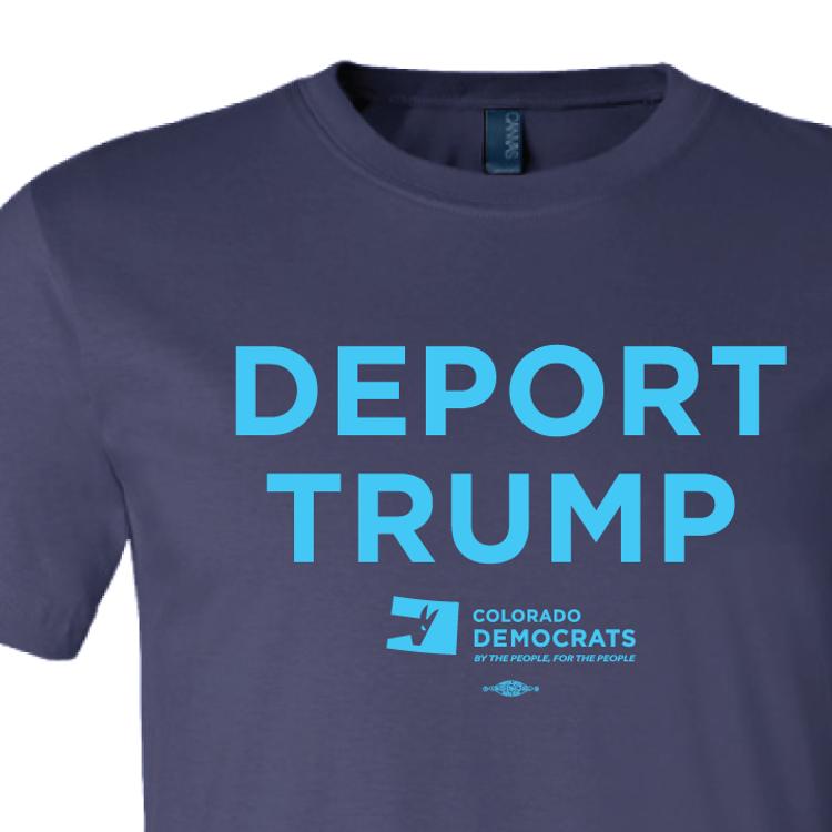 Deport Trump (Navy Tee)