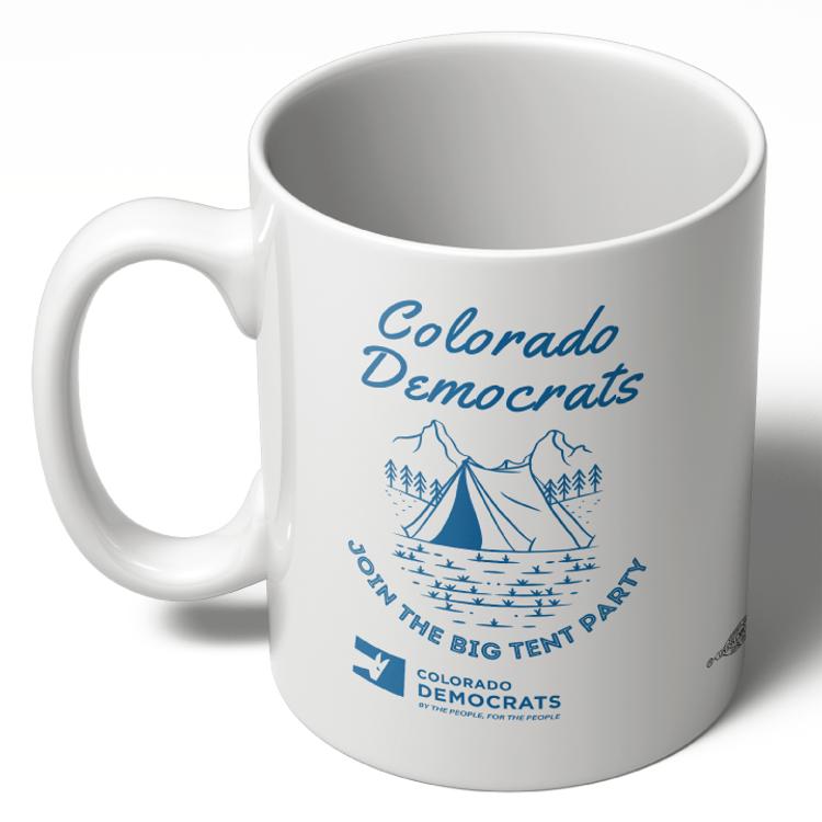 Join The Big Tent Party (11oz Ceramic Mug)