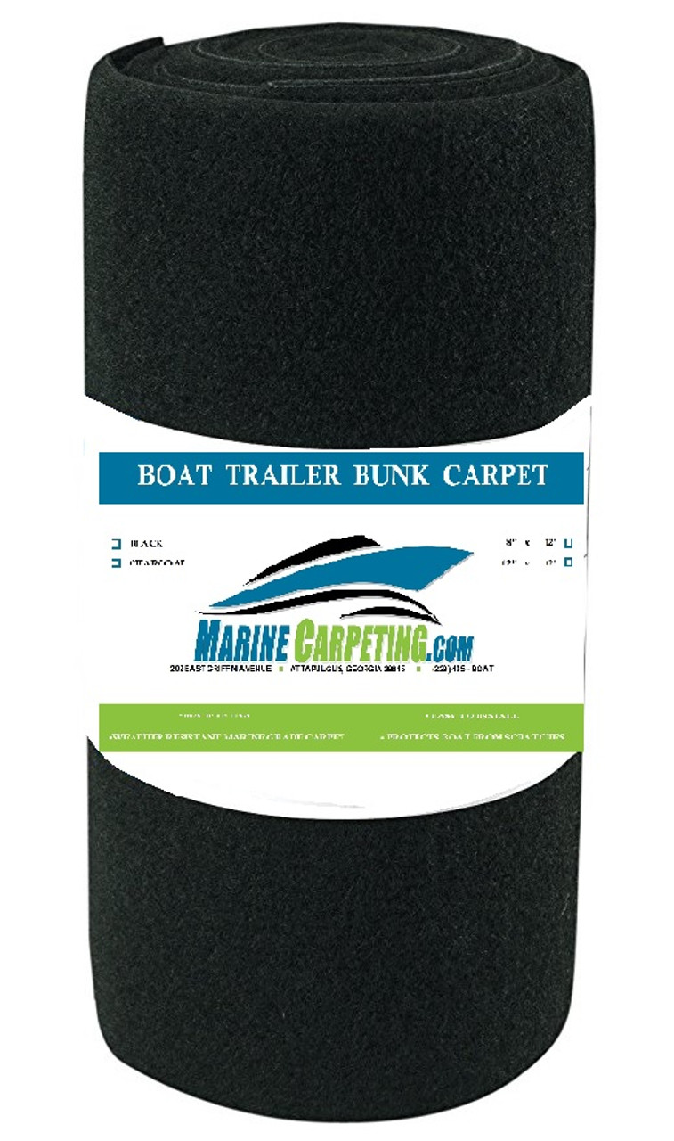 16 oz  Boat Trailer Bunk Carpet - 1 pieces, 12' x 12