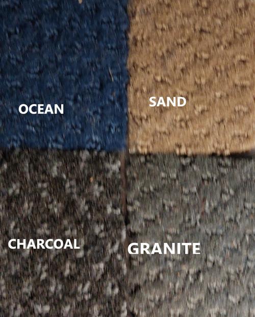 28 oz. Pontoon Boat Carpet Samples