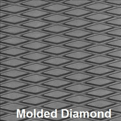 "Hydro-Turf Sheet - 37"" x 58"" in Molded Diamond"